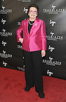 """NEW YORK, NY - June 23: Billy Jean King attends Logo's  2016 """"Trailblazer Honors""""June 23, 2016 at The Cathedral of St. John the Divine  in New York City .  Photo Credit: John Palmer/ MediaPunch"""