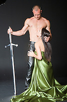 HISTORICAL themed COUPLE STOCK image for romance novel book covers by Jenn LeBlanc for Studio Smexy and Illustrated Romance.<br />