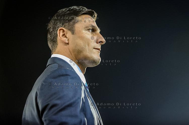 Xavier Zanetti (Inter) during the Italian Serie A football match Pescara vs SSC Inter on September 11, 2016, in Pescara, Italy. Photo by Adamo DI LORETO