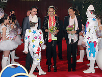 Princess Stephanie of Monaco attends the last show of the 2nd New Generation Circus Festival