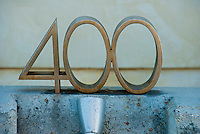 Number; 400, natural number following 399 and preceding 401