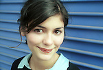 """Actress Audrey Tatou in a 2001 portrait session just before """"Amelie"""""""