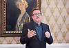 Sir Matthew Bourne <br /> in honoured by the Critics' Circle at a lunch on 28th April 2017 <br /> National Liberal Club, London, Great Britain <br /> <br /> Sir Matthew Bourne receives The Critics' Circle Award 2016 For Services to the Arts <br /> <br /> <br /> Photograph by Elliott Franks <br /> Image licensed to Elliott Franks Photography Services