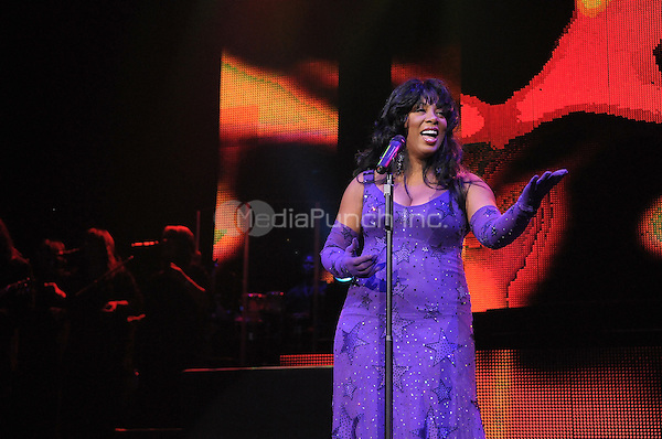 HOLLYWOOD, FL - MAY 17 : Singer Donna Summer performs at Hard Rock live held at the Seminole Hard Rock hotel and casino on May 17, 2009 in Hollywood Florida. (photo by: MPI10/MediaPunch Inc.)
