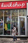 Shopping in Berlin, Germany