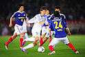 (L-R) Kosuke Nakamachi (F Marinos), Yuya Osako (Antlers), Takashi Kanai (F Marinos),.MARCH 31, 2012 - Football / Soccer :.2012 J.League Division 1 match between Yokohama F Marinos 0-0 Kashima Antlers at Nissan Stadium in Kanagawa, Japan. (Photo by AFLO)