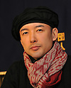 December 20, 2011, Tokyo, Japan - Taro Yamamoto, an actor-turned-anti-nuclear activist, speaks before the foreign media during a news conference at Tokyos Foreign Correspondents Club of Japan on Tuesday, December 20, 2011. The Fukushima nuclear crisis triggered by the March 11 earthquake and tsunami has changed Yamamoto's life drastically. Already a successful actor, Yamamoto has devoted himself to the fight against nuclear power since the accident. The 37-year-old has lost his job because of his anti-nuclear stance. Nevertheless, Yamamoto steadfastly maintains his stance against nuclear power, taking part in demonstrations and protest across the country against Japans nuclear policies. (Photo by Natsuki Sakai/AFLO) [3615] -mis-