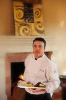 Chef Kris Utz,Black Walnut Inn &amp; Vineyards,Dundee Hills,Winery near Dundee,Wine Country,Oregon,USA.(release nr. 0009,0144,)