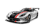 2016 Dodge Viper ACR sports car super car isolated on white background with clipping path