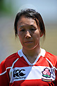 Chikako Sasaki (JPN), .MAY 19, 2012 - Rugby : Woman's Rugby Test match between Japan women's 61-15 Hong Kong women's at Chichibunomiya Rugby Stadium, Tokyo, Japan. (Photo by Jun Tsukida/AFLO SPORT)
