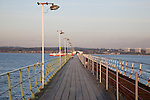 Pier at Hythe in Southampton; England, UK