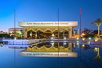 Long Beach, CA, City, Cityscape, Skyline, Architectural, Building, Southern California, USA,