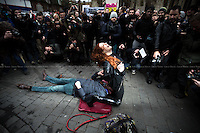 """12.12.2014 - """"Protest Outside Parliament Against Sexist Porn Law!"""""""