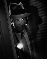 Detective night work.