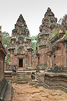 Banteay Srei Temple, Angkor, Cambodia