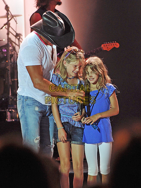 TIM MCGRAW, GRACIE KATHERINE MCGRAW and MAGGIE ELIZABETH MCGRAW