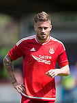 Aberdeen v St Johnstone...28.06.15  Glebe Park, Brechin..Pre-Season Friendly<br /> David Goodwillie<br /> Picture by Graeme Hart.<br /> Copyright Perthshire Picture Agency<br /> Tel: 01738 623350  Mobile: 07990 594431