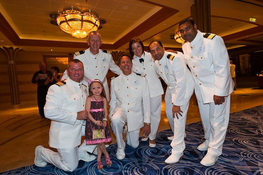 Officers In Dress White Uniforms Disney Dream Cruise Ship