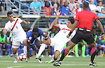 Haiti vs Peru in a 2016 Copa America Centenario soccer match at CenturyLink Field in Seattle, Washington on June 4, 2016.  Peru beat Haiti- 1-0. ©2016. Jim Bryant. All Rights Reserved.