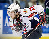 Kenny Ryan (Windsor - 26) - The Windsor Spitfires defeated the Plymouth Whalers 3-2 (OT) to sweep the Ontario Hockey League Western Conference Semi-Finals on Wednesday, April 7, 2010, at Compuware Arena in Plymouth, Michigan.