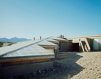 SOLAR COLLECTORS:  ROOF CURVE &amp; WINDOWS<br />