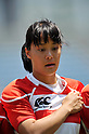 Ayaka Suzuki (JPN),.MAY 19, 2012 - Rugby : Woman's Rugby Test match between Japan women's 61-15 Hong Kong women's at Chichibunomiya Rugby Stadium, Tokyo, Japan. (Photo by Jun Tsukida/AFLO SPORT)