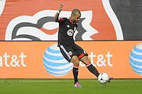 D.C. United forward Maicon Sanrtos (29) D.C. United defeated The Houston Dynamo 3-2 at RFK Stadium, Saturday April 28, 2012.