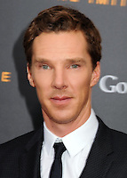 NEW YORK CITY, NY, USA - NOVEMBER 17: Benedict Cumberbatch arrives at the New York Premiere Of The Weinstein Company's 'The Imitation Game' held at the Ziegfeld Theatre on November 17, 2014 in New York City, New York, United States. (Photo by Celebrity Monitor)
