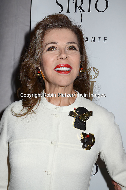 Princess Firyal attends the Sirio Ristorante New York opening in the Pierre Hotel, a TAJ Hotel on October 24, 2012 in New York City. Sirio Maccioni hosted the party