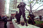 The Battle for Seattle, commonly know at the  WTO in Seattle in 19999  ran from November 30 to December 3, 1999 when members of the World Trade Organization met in Seattle, Washington. The planned negotiations were Interrupted by massive and controversial street protests outside the hotels and the Washington State Convention and Trade Center, in what became the second phase of the anti-globalization movement in the United States. The scale of the demonstrations?even the lowest estimates put the crowd at over 40,000?dwarfed any previous demonstration in the United States against a world meeting of any of the organizations generally associated with economic globalization (such as the WTO, the International Monetary Fund (IMF), or the World Bank. ©2012. Jim Bryant Photo. All Rights Reserved