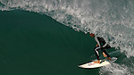 26 September 2005, Hossegor, France --- A surfer rides a wave in Hossegor. Photo by Victor Fraile --- Image by © Victor Fraile/Corbis
