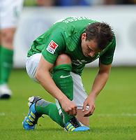 FUSSBALL   1. BUNDESLIGA   SAISON 2011/2012   TESTSPIEL SV Werder Bremen - Olympiakos Piraeus             26.07.2011 Philipp BARGFREDE (SV Werder Bremen)