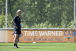 24 April 2008: U.S. National Team head coach Pia Sundhage (SWE). The United States Women's National Team held a training session on Field 3 at WakeMed Soccer Park in Cary, NC.