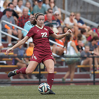 Florida State University (garnet) defeated Boston College (white), 2-0, at Newton Soccer Field, on September 21, 2014.
