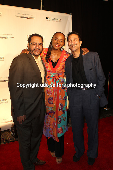 Dr. Michael Eric Dyson, Susan L. Taylor and Khephra Burns Attend the Shawn Carter Foundation 2011 Carnival at Hudson River Park's Pier 54: The Shawn Carter Foundation's Exclusive Fundraising Event to Support its College Scholarship, NY 9/29/11