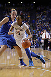 UK guard A'dia Mathies goes for a layup during the second half of the women's basketball game v. Depaul University in Rupp Arena in Lexington, Ky., on Sunday, December 7, 2012. Photo by Genevieve Adams | Staff