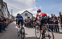 race leaders up C&ocirc;te de Saint-Roch in  Houffalize<br /> <br /> 103rd Li&egrave;ge-Bastogne-Li&egrave;ge 2017 (1.UWT)<br /> One Day Race: Li&egrave;ge &rsaquo; Ans (258km)