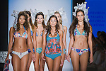 Models present a collection of underwear 2012 from Maaji gangplank, in Colombiamoda 2012 in Medellin, Colombia. 26/07/2012. Photo by Fredy Amariles/VIEWpress.
