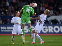 Fussball Bundesliga 2012/13: FC Augsburg - VFL Wolfsburg