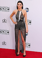 LOS ANGELES, CA, USA - NOVEMBER 23: Kendall Jenner arrives at the 2014 American Music Awards held at Nokia Theatre L.A. Live on November 23, 2014 in Los Angeles, California, United States. (Photo by Xavier Collin/Celebrity Monitor)