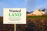 Spoof Land Wanted sign