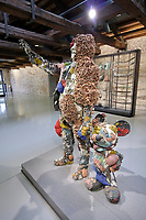 Punta della Dogana.<br /> Damien Hirst: Treasures from the Wreck of the Unbelievable.<br /> The Collector with Friend.