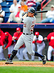 9 March 2010: Detroit Tigers' infielder Don Kelly in action during a Spring Training game against the Washington Nationals at Space Coast Stadium in Viera, Florida. The Tigers defeated the Nationals 9-4 in Grapefruit League action. Mandatory Credit: Ed Wolfstein Photo