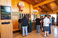 Sake' One tasting room in Forest Grove Oregon. Sake' One is the pony Kura or sake brewery / distillery in North America.