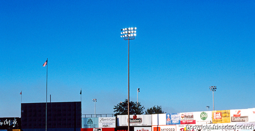 Ballparks: Toledo--Ned Skeldon Stadium. (The word was out that a new park is to be built downtown.)