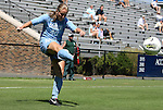 11 September 2011: North Carolina's Emmalie Pfankuch. The Texas A&M Aggies defeated the University of North Carolina Tar Heels 4-3 in overtime at Koskinen Stadium in Durham, North Carolina in an NCAA Division I Women's Soccer game.