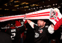 D.C. United fans at the 2011 MLS Superdraft, in Baltimore, Maryland on January 13, 2010.