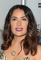 LOS ANGELES, CA - JUNE 21: Salma Hayek at the Premiere Of Momentum Pictures' Septembers Of Shiraz at The Museum Of Tolerance On June 21, 2016. Credit: David Edwards/MediaPunch