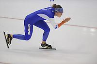 SCHAATSEN: HEERENVEEN: 29-10-2014, IJsstadion Thialf, Topsporttraining, Ireen Wüst, ©foto Martin de Jong