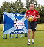 050816 Mark Warburton league flag